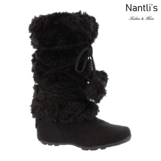 BL-Tara-Hi Black Botas de Mujer Mayoreo Wholesale Womens Boots Nantlis