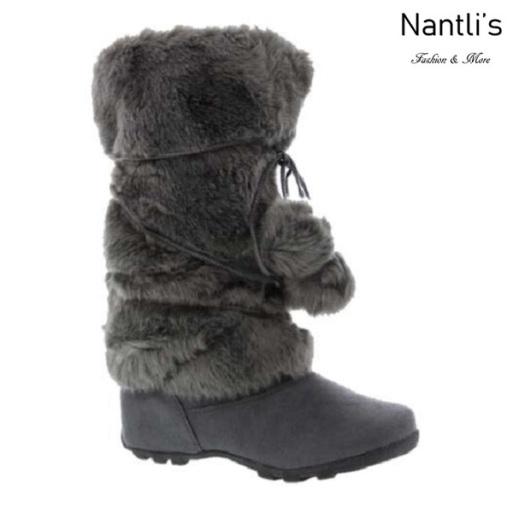BL-Tara-Hi Grey Botas de Mujer Mayoreo Wholesale Womens Boots Nantlis