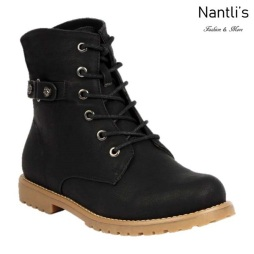 BL-Urbasi-32 Black Zapatos de Mujer Mayoreo Wholesale Women Boots Nantlis