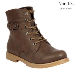 BL-Urbasi-32 Brown Zapatos de Mujer Mayoreo Wholesale Women Boots Nantlis