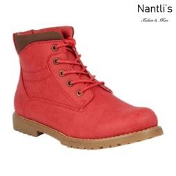 BL-Urbasi-33 Red Zapatos de Mujer Mayoreo Wholesale Women Boots Nantlis