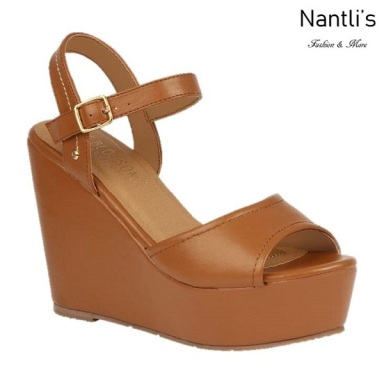 BL-Whitney-20 Tan Zapatos de Mujer Mayoreo Wholesale Women Shoes Wedges Nantlis