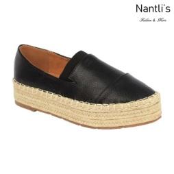 BL-Yanny-14 Black Zapatos de Mujer Mayoreo Wholesale Women Shoes Flats sneakers Nantlis