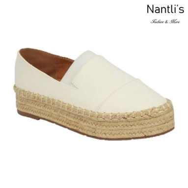 BL-Yanny-14 White Zapatos de Mujer Mayoreo Wholesale Women Shoes Flats sneakers Nantlis