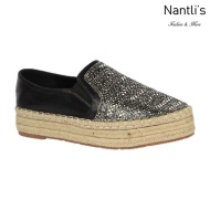 BL-Yanny-15 Black Zapatos de Mujer Mayoreo Wholesale Women Shoes Flats sneakers Nantlis