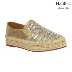 BL-Yanny-15 Champagne Zapatos de Mujer Mayoreo Wholesale Women Shoes Flats sneakers Nantlis