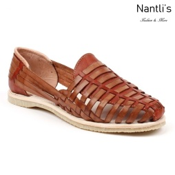 Huaraches Mayoreo CAH751 Natural Huarache de piel para mujer Womens Mexican leather sandals Nantlis Tradicion de Mexico