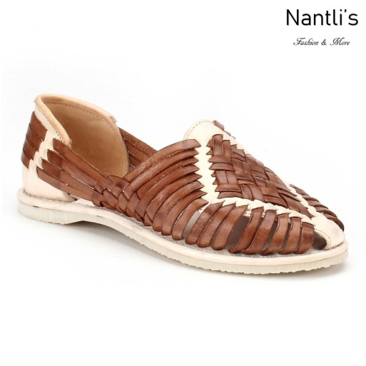 Huaraches Mayoreo CAH753 Sand Huarache de piel para mujer Womens Mexican leather sandals Nantlis Tradicion de Mexico