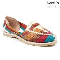 Huaraches Mayoreo CAH754 Multi Huarache de piel para mujer Womens Mexican leather sandals Nantlis Tradicion de Mexico
