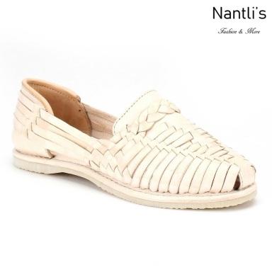 Huaraches Mayoreo CAH754 Natural Huarache de piel para mujer Womens Mexican leather sandals Nantlis Tradicion de Mexico