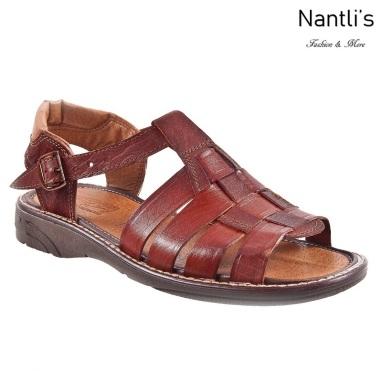 JBHP011 chedron Huaraches de hombre Leather Mexican sandals for men Nantlis