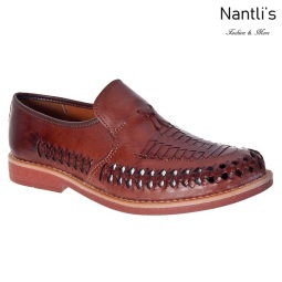 JBHP1985 chedron Huaraches de hombre Leather Mexican sandals for men Nantlis