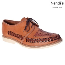 JBHP1986 Tan Huaraches de hombre Leather Mexican sandals for men Nantlis