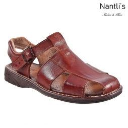 JBhp445 chedron Huaraches de hombre Leather Mexican sandals for men Nantlis