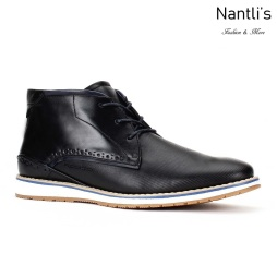 JX-B1702 Black Zapatos por Mayoreo Wholesale mens shoes Nantlis Jaxson Shoes