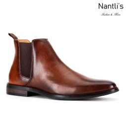 JX-B1851 Brown Zapatos por Mayoreo Wholesale mens shoes Nantlis Jaxson Shoes