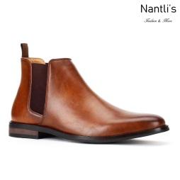 JX-B1851 Cognac Zapatos por Mayoreo Wholesale mens shoes Nantlis Jaxson Shoes