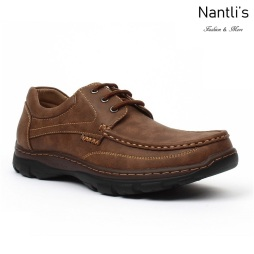 JX-C1720 Brown Zapatos por Mayoreo Wholesale mens shoes Nantlis Jaxson Shoes