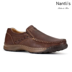 JX-C1723 Brown Zapatos por Mayoreo Wholesale mens shoes Nantlis Jaxson Shoes