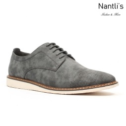 JX-C1831 Grey Zapatos por Mayoreo Wholesale mens shoes Nantlis Jaxson Shoes