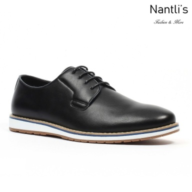 JX-C1832 Black Zapatos por Mayoreo Wholesale mens shoes Nantlis Jaxson Shoes