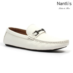 JX-D1710 White Zapatos por Mayoreo Wholesale mens shoes Nantlis Jaxson Shoes