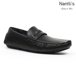 JX-D1711 Black Zapatos por Mayoreo Wholesale mens shoes Nantlis Jaxson Shoes