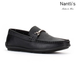 JX-j1715 black Zapatos por Mayoreo Wholesale kids shoes Nantlis Jaxson