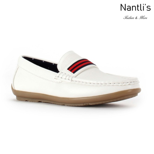 JX-K1713 white Zapatos por Mayoreo Wholesale kids shoes Nantlis Jaxson