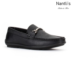 JX-K1715 black Zapatos por Mayoreo Wholesale kids shoes Nantlis Jaxson