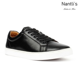 JX-S1811 Black Zapatos por Mayoreo Wholesale mens shoes Nantlis Jaxson Shoes