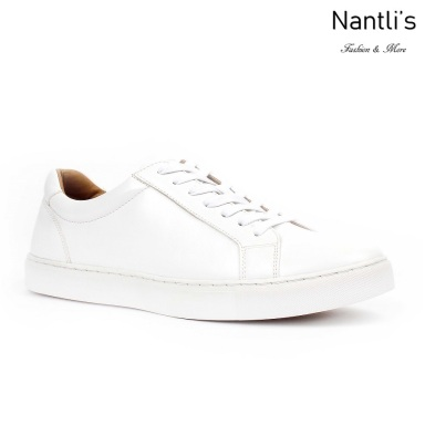 JX-S1811 White Zapatos por Mayoreo Wholesale mens shoes Nantlis Jaxson Shoes