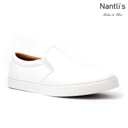JX-S1812 White Zapatos por Mayoreo Wholesale mens shoes Nantlis Jaxson Shoes