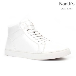 JX-S1814 White Zapatos por Mayoreo Wholesale mens shoes Nantlis Jaxson Shoes