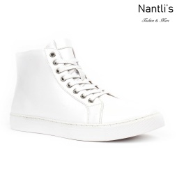 JX-S1815 White Zapatos por Mayoreo Wholesale mens shoes Nantlis Jaxson Shoes