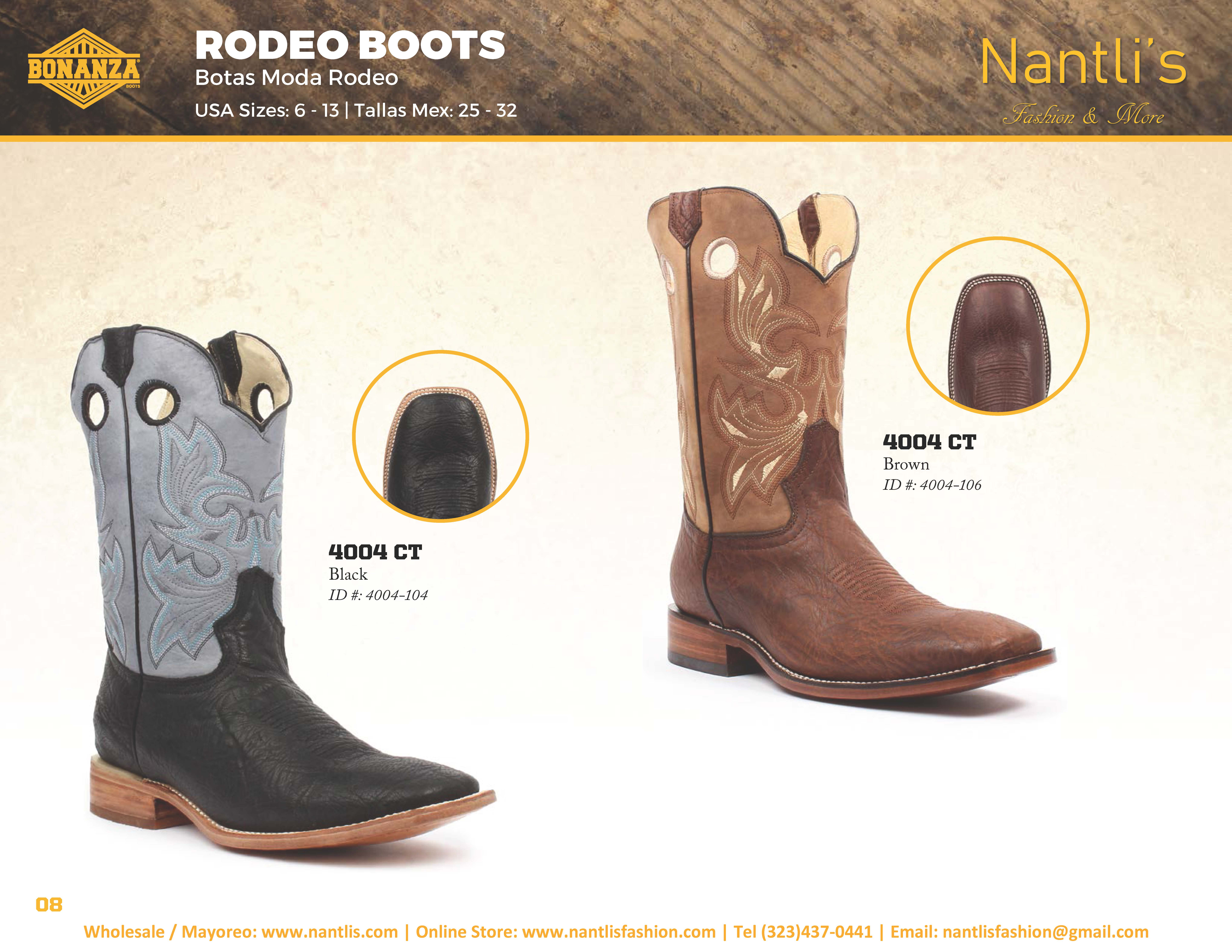 fa6e794dad Nantlis-Bonanza vol 4 catalog botas vaqueras mayoreo Wholesale western  boots Page 08
