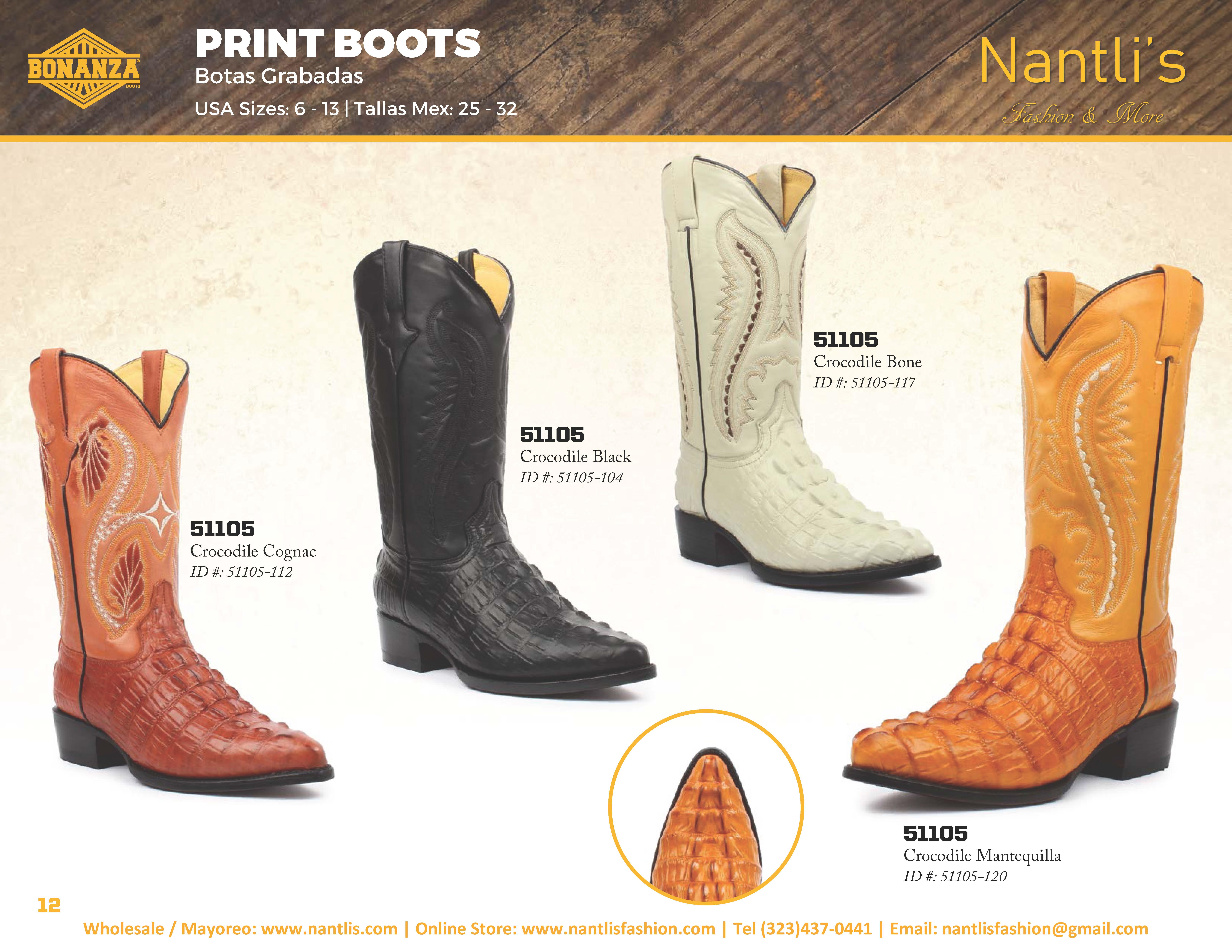 5b6c71ff74 Nantlis-Bonanza vol 4 catalog botas vaqueras mayoreo Wholesale western  boots Page 12