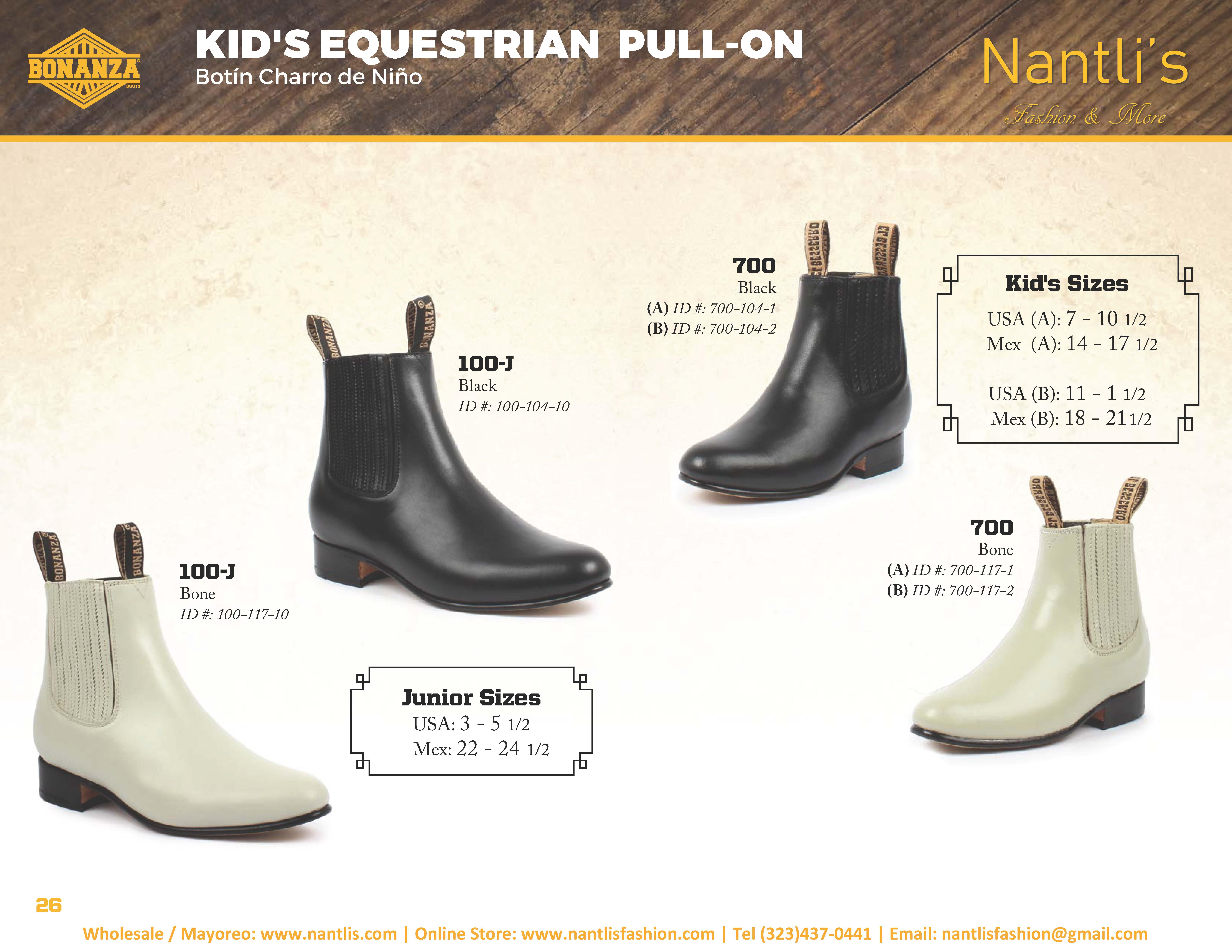 50a2b7d54b Nantlis-Bonanza vol 4 catalog botas vaqueras mayoreo Wholesale western  boots Page 26