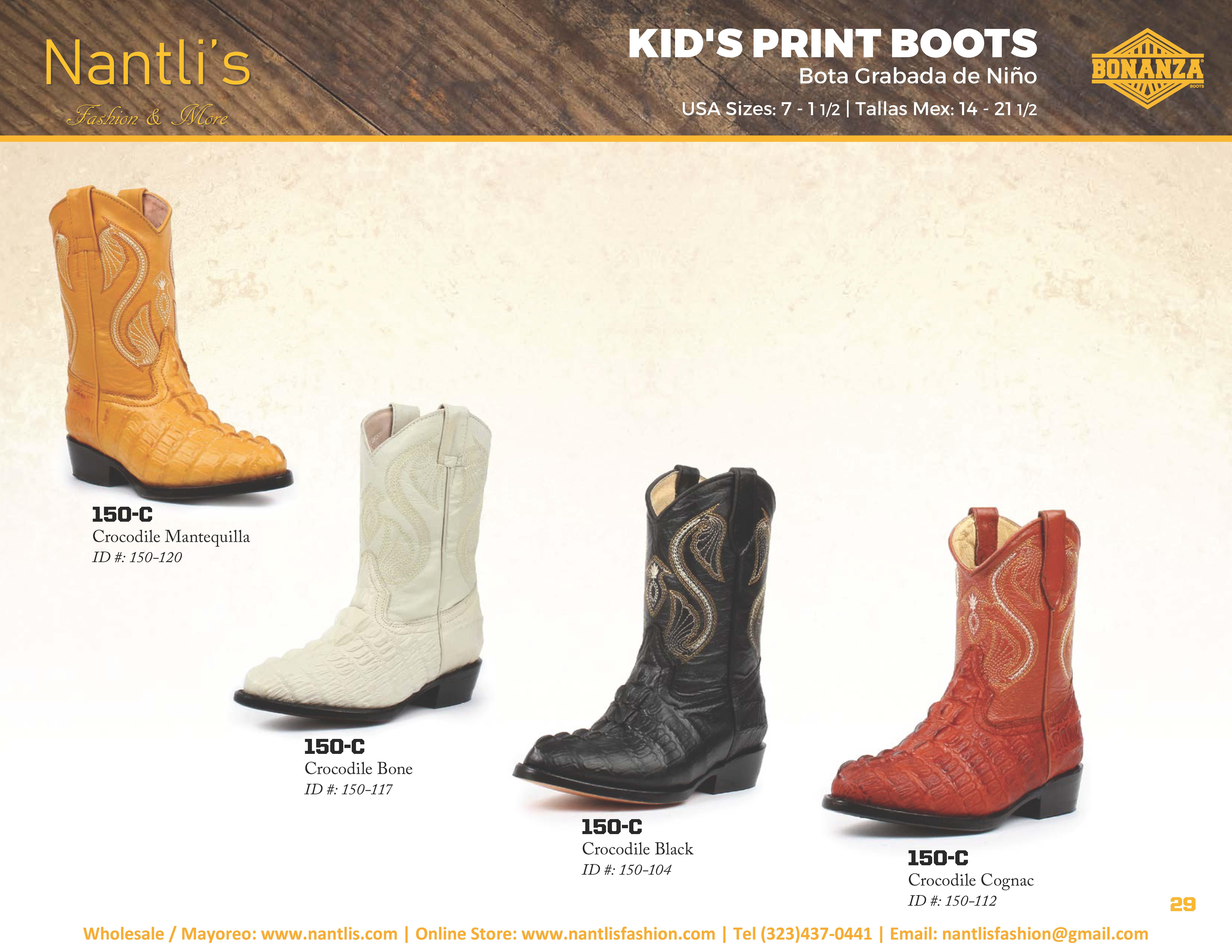 43f3ace1ec Nantlis-Bonanza vol 4 catalog botas vaqueras mayoreo Wholesale western  boots Page 29