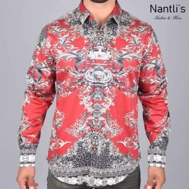 Nantlis Camisa DPL6105 Mens Long Sleeve Shirt