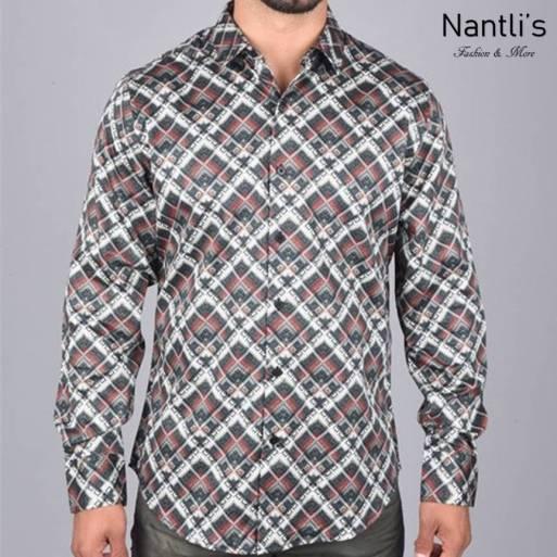Nantlis Camisa DPL6180 Mens Long Sleeve Shirt