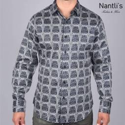 Nantlis Camisa DPL6181 Mens Long Sleeve Shirt