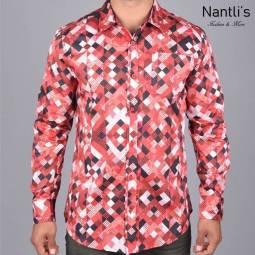 Nantlis Camisa DPL6183 Mens Long Sleeve Shirt