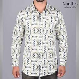 Nantlis Camisa DPL6184 Mens Long Sleeve Shirt