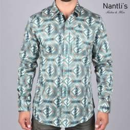Nantlis Camisa DPL6185 Mens Long Sleeve Shirt