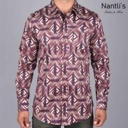 Nantlis Camisa DPL6186 Mens Long Sleeve Shirt