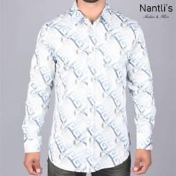 Nantlis Camisa DPL6187 Mens Long Sleeve Shirt