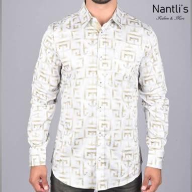 Nantlis Camisa DPL6190 Mens Long Sleeve Shirt