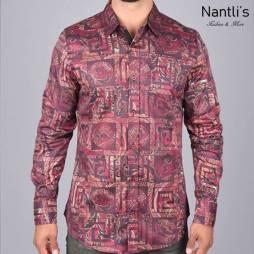 Nantlis Camisa DPL6192 Mens Long Sleeve Shirt