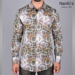 Nantlis Camisa DPL6193 Mens Long Sleeve Shirt